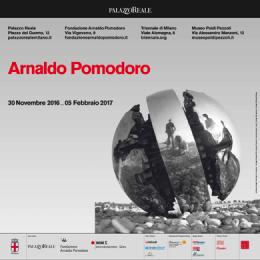 ARNALDO POMODORO - Palazzo Reale - Sala Cariatidi