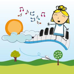 BABY BOFE' | ALICE NEL PIANOFORTE DELLE MERAVIGLIE
