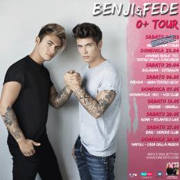 BENJI & FEDE '0+ TOUR'