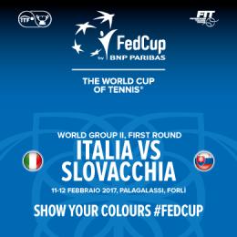 FED CUP 2017 BY BNP PARIBAS ITALIA VS SLOVACCHIA