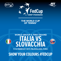 FED CUP 2017 BY BNP PARIBAS - PalaGalassi (ex Palafiera) Forlì