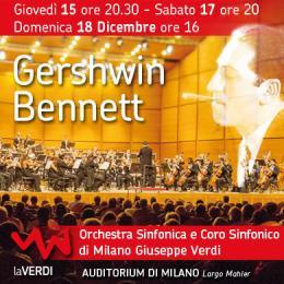GERSHWIN / GERSHWIN-BENNETT - AXELROD - Auditorium di Milano Fondazione Cariplo