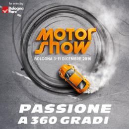 MOTOR SHOW 2016 - Quartiere Fieristico di Bologna