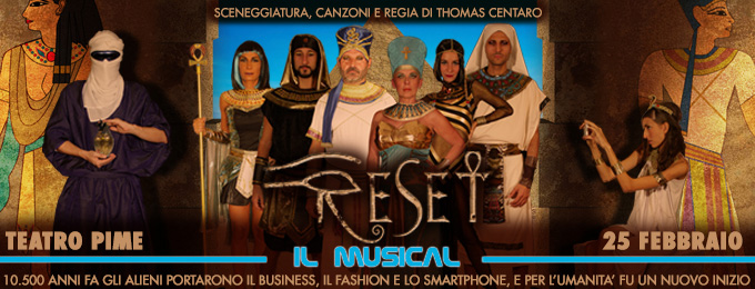 RESET - IL MUSICAL