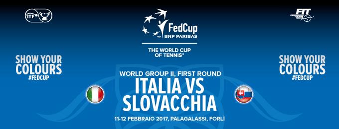 FED CUP 2017 BY BNP PARIBAS ITALIA VS SLOVACCHIA - 2 DAYS