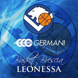 GERMANI BASKET BRESCIA VS PISTOIA IN VENDITA DAL 28/12/16