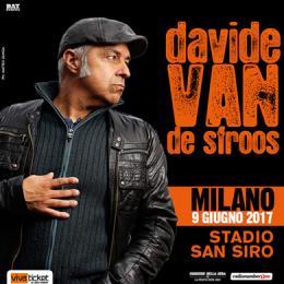 DAVIDE VAN DE SFROOS - Stadio San Siro