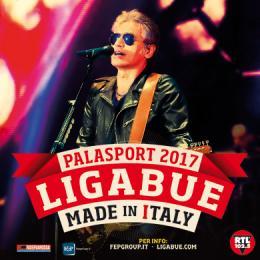 LIGABUE - MADE IN ITALY PALASPORT 2017 - Tour nei palazzetti italiani