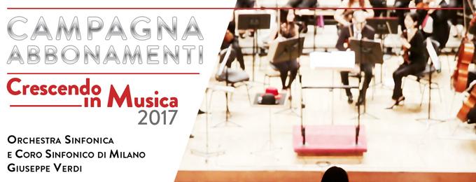 CRESCENDO IN MUSICA - ABB. LIBERO 5 CONCERTI 2017
