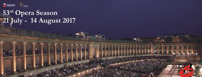 53^ MACERATA OPERA FESTIVAL 2017