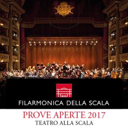 FILARMONICA DELLA SCALA PROVE APERTE 2017 - Teatro alla Scala - MILANO