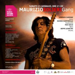 MAURIZIO SOLIERI GANG - Teatro Sociale