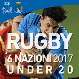 6 NAZIONI U20 - ITALIA VS GALLES - Campo Sportivo G. Mari