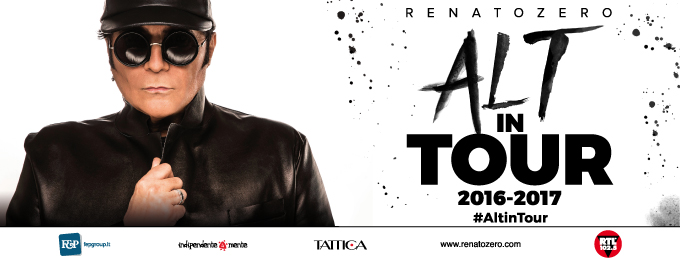 RENATO ZERO - ALT IN TOUR 2016-2017