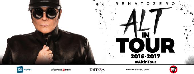 RENATO ZERO - ALT IN TOUR 2016-2017
