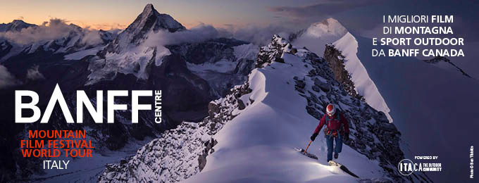 Foto Ben Tibbetts:Locandina del Banff Mountain Film Festival World Tour