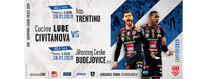 EUROSUOLE-FORUM : CEV CHAMPIONS LEAGUE VOLLEY 2020 CUCINE ...