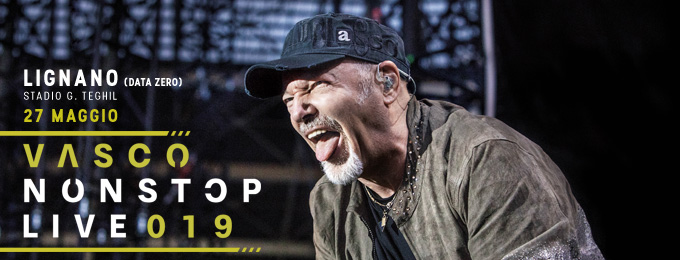 VASCO NON STOP LIVE 2019 - Data Zero